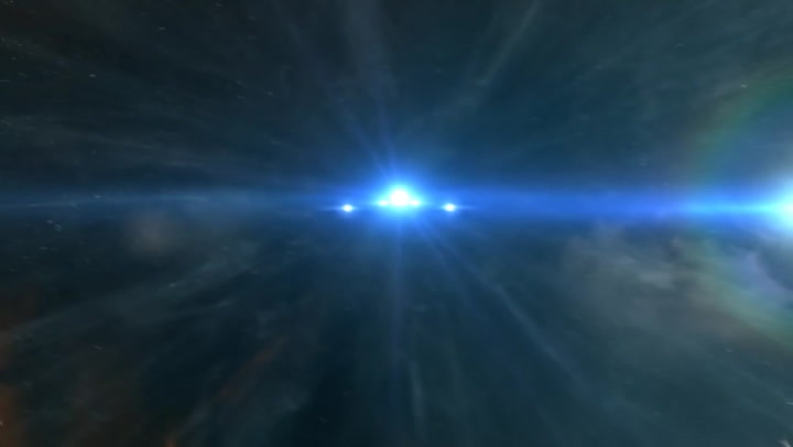 (Duplicate) [AfterFX] Eve Online alternate warp effect ship POV!